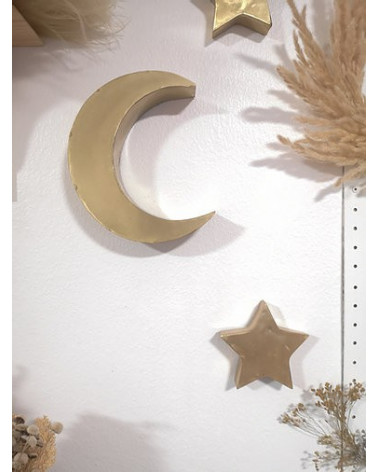 Petite lune métal
