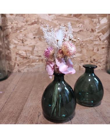 Vase en verre soliflore